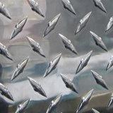 placa Chequered do alumínio 1050 3003 5052 para a plataforma