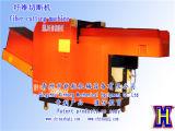 Máquina de estaca da fibra do cânhamo|Máquina de estaca de pano|Máquina do interruptor inversor da fibra