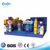 Amusementpark Karikatur-Zeichen aufblasbares kombiniertes des Prahlers und des Plättchen-Spielzeugs LG9025