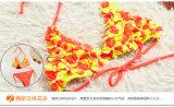 reizender süsser Mädchen-Bikini der Blumen-3D