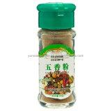 Polvere di spezie del cinese cinque