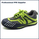 Peso ligero ningún zapato de seguridad compuesto del deporte de Kevlar Midsole de la punta del metal