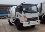 Le Sinotruck 4cbm 4X2 Concrete Mixer Truck
