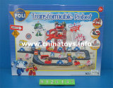 Nuovo Item Plastic Toy Track Car con Parking Lot (9125123)
