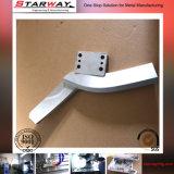 Aluminium-/Edelstahl-Metallkundenspezifische Präzisionsteile durch die CNC maschinelle Bearbeitung