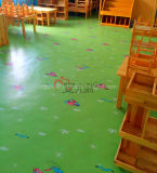 Ecoの屋内のための友好的な児童室PVCビニールの床