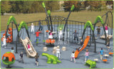 Kaiqi Outdoor Playground Climbing Systems com jogos Multi Play (KQ60140A)