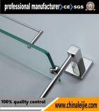 Qualitäts-Badezimmer-Zubehör-an der Wand befestigtes doppeltes Glasregal