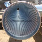 Труба воды нержавеющей стали ви-образност большого диаметра обернутая проводом Drilling