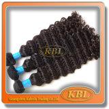 cabelo humano Kinky do Afro brasileiro da alta qualidade 5A