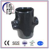 ASTM A234/A105 Kohlenstoffstahl, der Kreuz (Kolben-, verringert Schweißungs-Befestigung)
