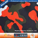 900D Oxford PVC / PU estampado camuflaje militar Tejido de poliéster