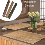 Chocolate Bamboo Placemats Dinner Table Kitchen Place Mats