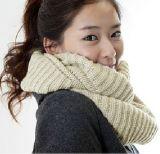 Чисто экспорта высокого качества промотирования логоса прокладки и жаккарда цвета шарф Китая фабрики шарфа Knit конструкции изготовленный на заказ дешевого акриловый просто новый
