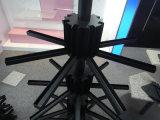 Stand tournant d'armoire en métal de partie supérieure du comptoir d'exposition