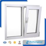 Wit China het StandaardVenster van het Glas van het Frame van UPVC/van pvc Plastic Dubbele
