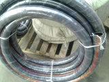 Boyau SAE100 R4 d'aspiration inséré par fil de pétrole hydraulique