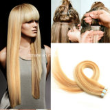 Virgin brasiliano Human Hair 20PCS/50g 40PCS/100g Tape in Human Hair Extensions Ombre Remy Tape Skin Weft