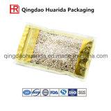 Procédé spécial empaquetant le sac en plastique d'emballage de nourriture de nourriture en plastique pour des arachides