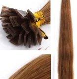 Cheveux humains brésiliens de Remy de bout de kératine de prolongation plate de cheveux