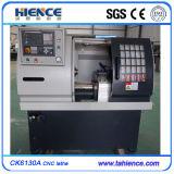 Torno de giro do CNC da maquinaria pequena do CNC do baixo custo com alimentador Ck6125A da barra