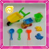 La benna stabilita della spiaggia dell'automobile di plastica della spiaggia scherza il giocattolo