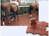 Telhas de borracha ao ar livre duráveis Eco-Friendly da borracha do Cão-Osso da telha de revestimento