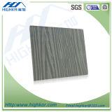 Fibra de cemento Junta de panel de pared exterior Grano de madera
