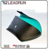 Vidrio de Sun unisex polarizado plástico de la PC del cabrito del acetato del metal del deporte de Sunglass de la manera del metal de madera de la mujer (GL18)