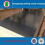 la película de la base del álamo de 18m m/de la base de la madera dura hizo frente a la madera contrachapada con pegamento de la melamina