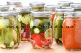 стеклянная бутылка 16oz для солениь и опарников хранения еды