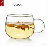 200ml comerciano tazze all'ingrosso di vetro eleganti di vetro libere beventi a parete semplice delle tazze di caffè del Borosilicate delle tazze di tè le alte
