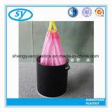 LDPE 검정 올림 의무 궤를 위한 플라스틱 졸라매는 끈 쓰레기 봉지
