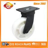 Echador industrial del eslabón giratorio total de nylon del freno de 6 pulgadas