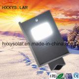 屋外防水IP65は1つの通り太陽ライト6Wのすべてを統合した