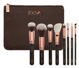 Комплект щетки /Pink/Gold черноты комплекта щетки состава стороны Zoeva 8PCS косметический