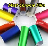 無光沢のクロム氷のフィルム、手段の包むことのための赤い無光沢のクロムビニールのフィルム