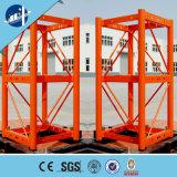 Sistema de llamada de la capa para el alzamiento eléctrico del pasajero de la construcción