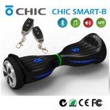 Het nieuwe Slimme Elektrische Afdrijvende Skateboard van de Aankomst met de Vrije Autoped van de Handen van de Spreker Bluetooth