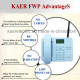 Baixo telefone sem fio Desktop da carga WCDMA do telefone (KT1000 (135))