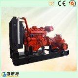 Jeu diesel portatif de pompe à eau de lutte contre l'incendie d'entraînement