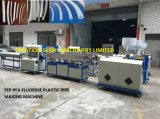 Hohe Präzisions-Plastikverdrängung-Maschine für die Herstellung der FEP Rohrleitung