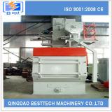 Máquina del chorreo con granalla de la banda transportadora de la eficacia alta