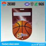 La alta calidad promocional de PVC etiqueta del equipaje