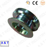 Em peças de máquinas de alta qualidade feitas de aço