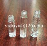 bottiglie di vetro del polacco di chiodo 4ml piccole con con tappo a vite