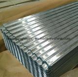 Feuille en acier ondulée en acier de toiture de la toiture galvanisée par moulin direct Sheet/Gi/PPGI