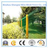 PVC покрыл сваренный ограждать провода ячеистой сети гальванизированный загородкой