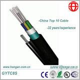 De fibra de acero acanalado cinta de fibra óptica de China fabricante