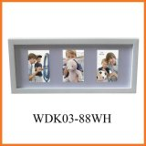 Дешевая рамка фотоего (WDK03-88WH)